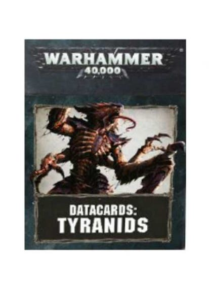 Datacards Tyranids 2017