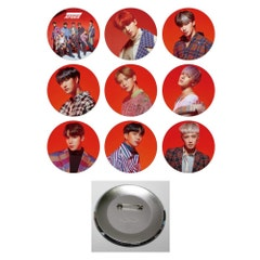 Ateez Treasure EP.Map to Answer Pin Button Badge