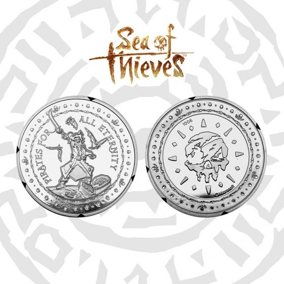 Pirate for all Eternity Collectible Coin