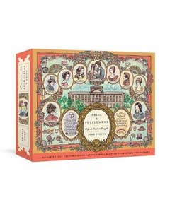 Pride and Puzzlement: A Jane Austen Puzzle: A 1000-Piece Jigsaw Puzzle Featuring Literature's Most Beloved Characters and Subtitle change: Couples: Jigsaw Puzzles for Adults