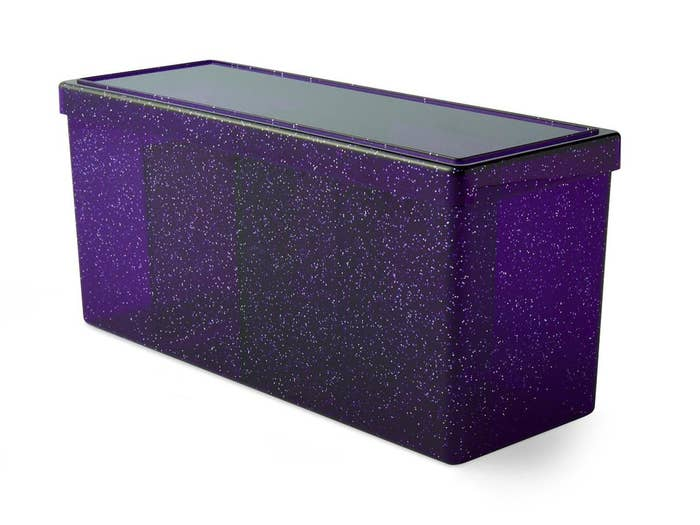 Night Blue Dragon Shield Four Compartment Deck Box