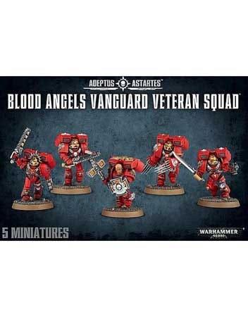 Blood Angels Vanguard Veteran Squad - 2016