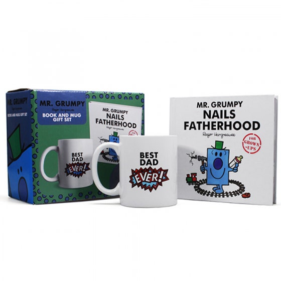 Mr. Grumpy Nails Fatherhood Gift Set