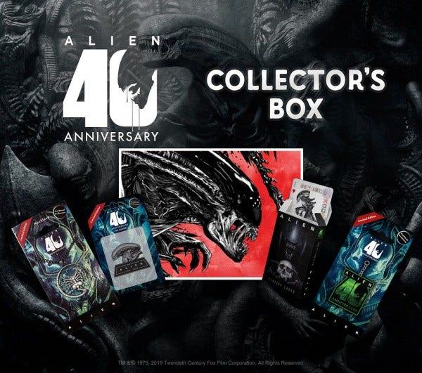 Alien Collector Box