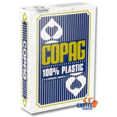 Copag Blue Plastic Poker Size Playing Cards