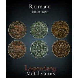 Roman Metal Coins Set (24)