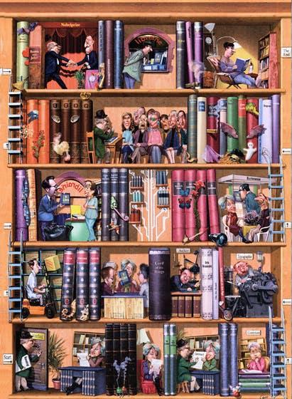 Books Puzzle (1500)