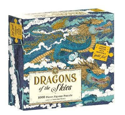 Dragons of the Skies: 1000 piece jigsaw puzzle