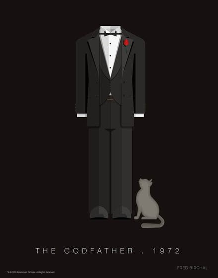 Fred Birchal, the Godfather Limited Edition art Print