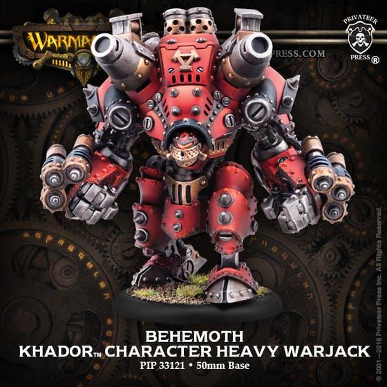 Behemoth Character Heavy Warjack