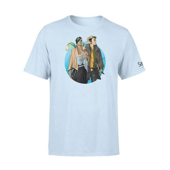Marko & Alana Baby Blue T-Shirt (S)