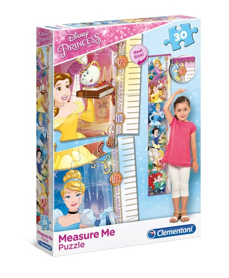 Measure Me Disney Princess Puzzle (30)