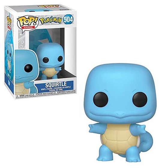 Pop Games Squirtle Vin Fig