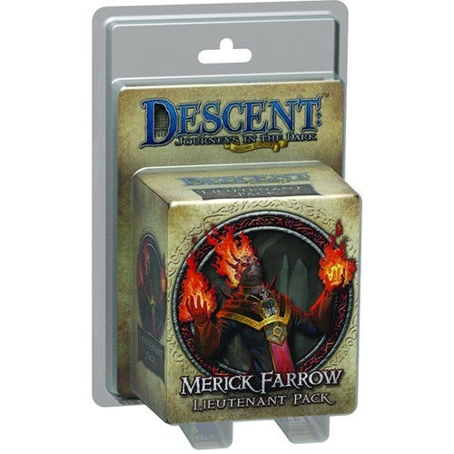 Descent: Journeys in the Dark (Second Edition) – Merick Farrow Lieutenant Pack