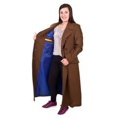 10th Doctor's Ladies Coat (XL)