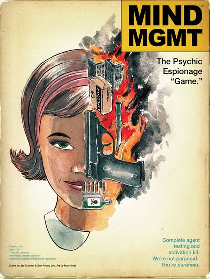 """Mind MGMT: The Psychic Espionage """"Game.'' Deluxe Edition"""