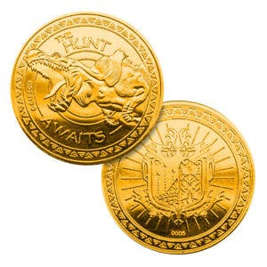 Monster Hunter Limited Gold Edition Collectible Coin