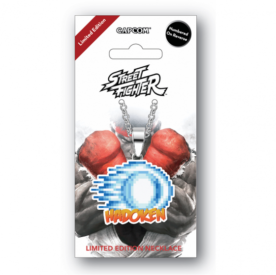 Street Fighter Limited Edition Necklace