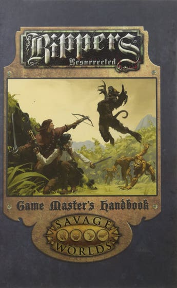 Rippers Resurrected Game Masters Handbook Limited Edition