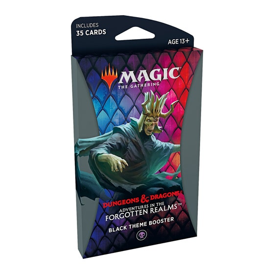 Adventures in the Forgotten Realms Black Theme Booster Pack