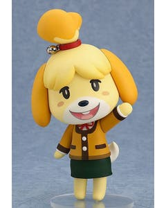 Animal Crossing New Leaf Shizue Isabelle Nendoroid Winter Ve