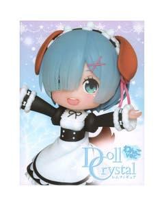 Rem Doll Crystal Dog Ears Version PVC Statue 14 cm