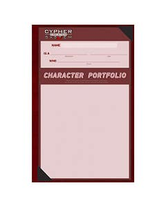 Cypher System Character Portfolio