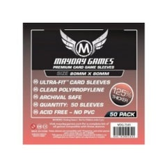 Mayday Premium Card Game Sleeves 80 mm x 80 mm (50)