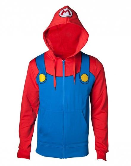 Super Mario Costume Hoodie (2XL)