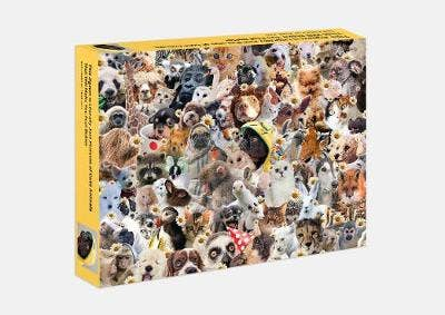 This Jigsaw is Literally Just Pictures of Cute Animals That Will Make You Feel Better: 500 piece jigsaw puzzle