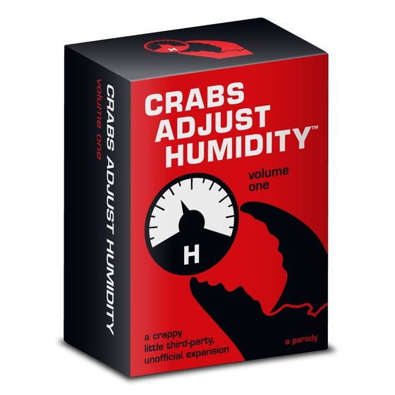 Crabs Adjust Humidity: Volume One (unofficial expansion for Cards Against Humanity)