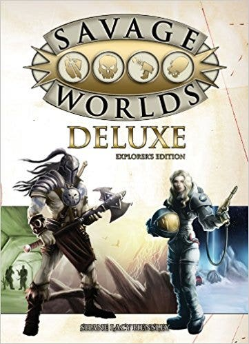 Savage Worlds Core Rules Deluxe Explorer's Edition