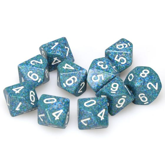 Speckled D10 Sea (10)