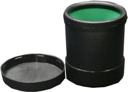 Black Dice Cup with Twist Lid