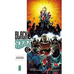 Black Science Premiere Hardcover Volume 1: The Beginner's Guide to Entropy