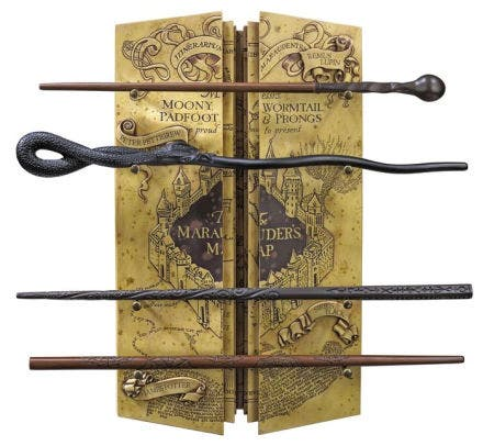 The Marauder's Map Wand Collection