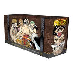 One Piece Box Set 1: East Blue and Baroque Works: Volumes 1-23 with Premium