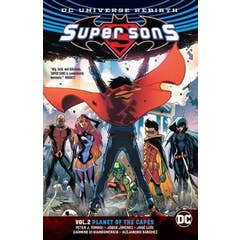 Super Sons Volume 2: Planet of the Capes: Rebirth