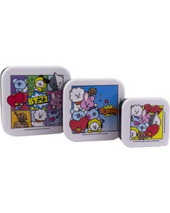 BT21 Snack Boxes 3-Pack
