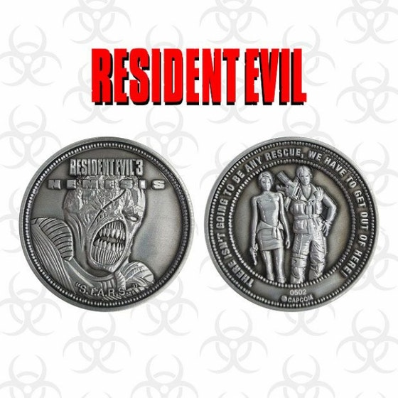Resident Evil 3 Limited Edition Collectible Coin