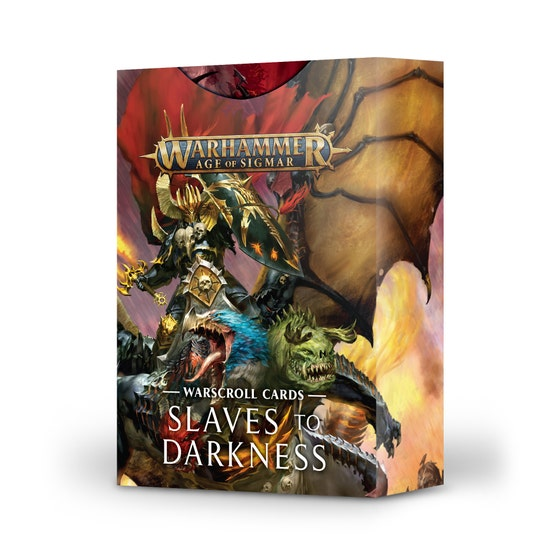 Warscroll Cards Slaves to Darkness