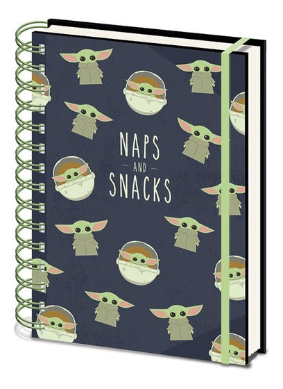 Naps and Snacks Wiro Notebook A5