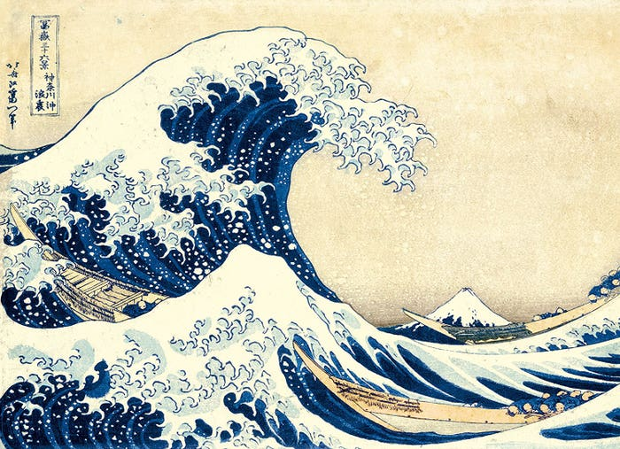 Great Wave of Kanagawa Puzzle (1000)