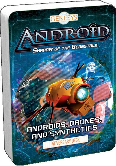 Androids, Drones and Synthetics Adversary Deck