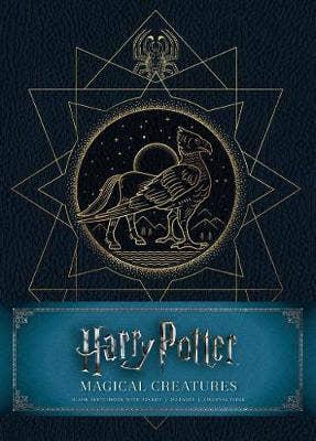 Harry Potter: Magical Creatures Hardcover Blank Sketchbook