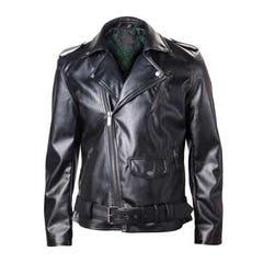 Zelda Black PU Leather Jacket (S)