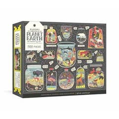 Wondrous Workings of Planet Earth Puzzle: Ecosystems of the World 500-Piece Jigsaw Puzzle and Poster