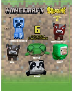 Minecraft Squishme Series 2 Anti-Stress Figure