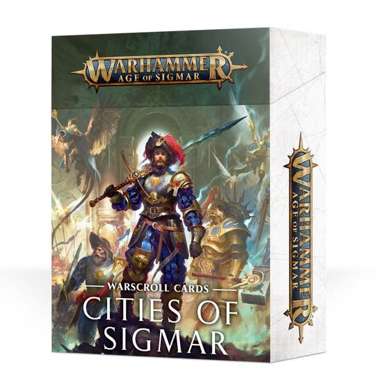 Warscroll Cards Cities of Sigmar