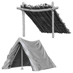Tent & Lean-To W10